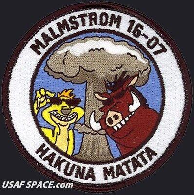UH-1 MALMSTROM DOD EMERGENCY WAR ORDER PLANNING PATCH USAF 341st MISSILE WING