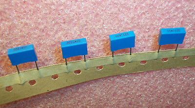50 QTY .022uf 400V 5/% METALLIZED POLYESTER CAPACITORS 924-400//223J10 TECATE