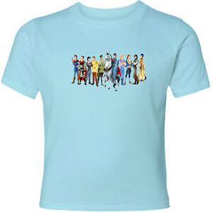 Disney-Ten-Princes-Unisex-Men-Women-Video-Movie-Anime-Cartoon-T-Shirt