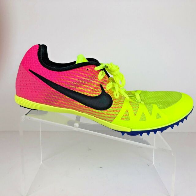 competitive price 95386 366a8 Nike Mens Zoom Rival M Multiuse Track Shoes Size 12 Volt Pink RIO 806555-999