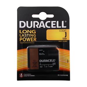 Duracell-J-Groesse-6v-Alkaline-Batterie-539-4LR61-7K67-UK-Verkaeufer