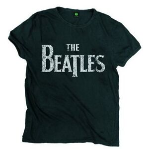 The-Beatles-Drop-T-Logo-Vintage-Official-Merchandise-T-Shirt-M-L-XL-Neu