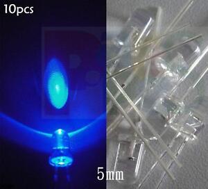 5mm Green Flash Flashing Blink 9V 12V DC Pre-Wired Water Clear LED Leds 20CM 10