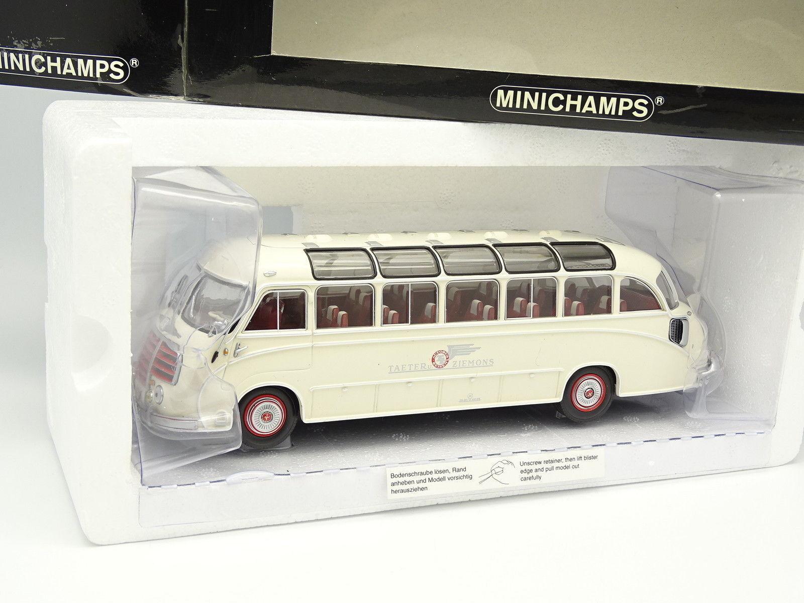 Minichamps 1 43 - AutoBus setra s8 taeter und ziemons aachen