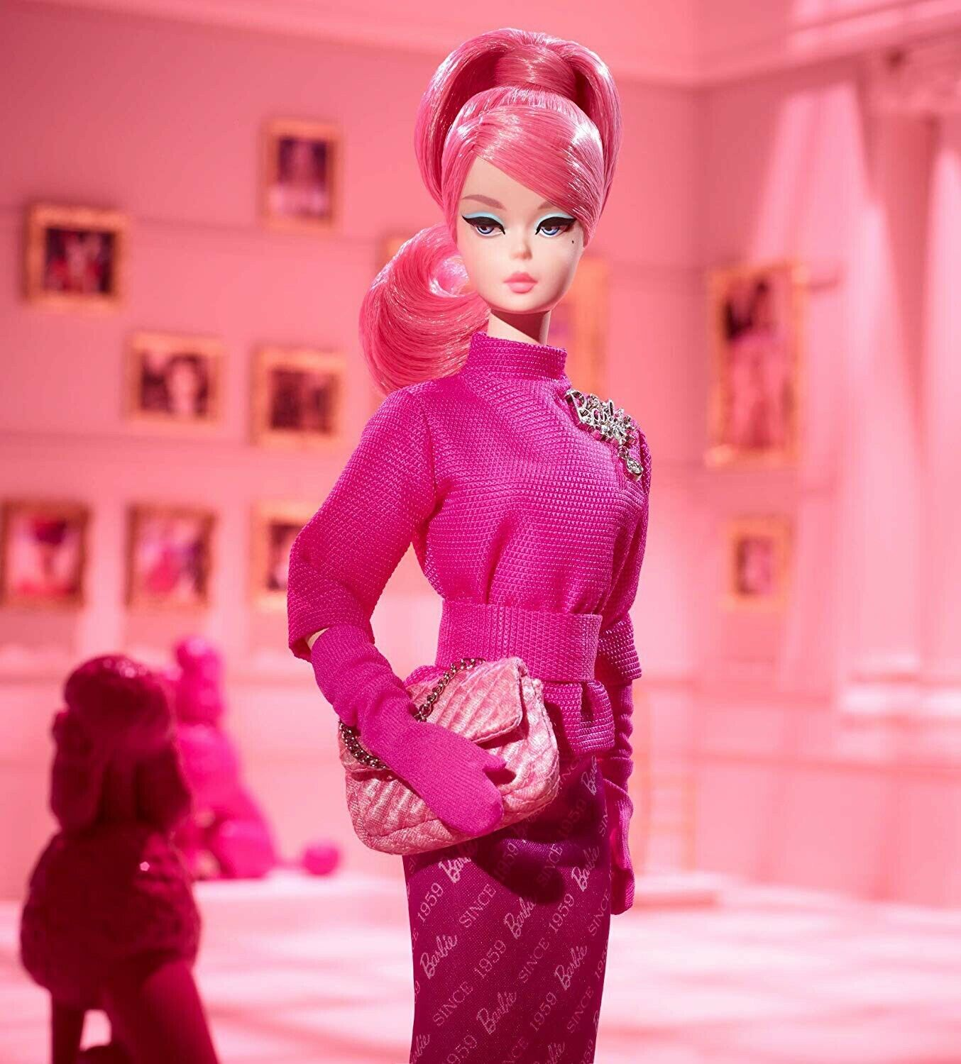 Barbie Proudly rosado Doll, 60th Anniversary