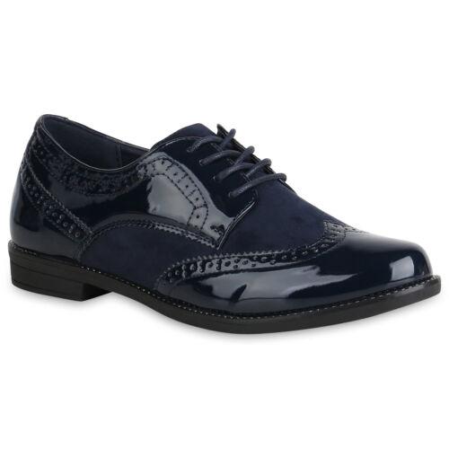 Klassische Damen Herren Halbschuhe Schnürer Business 892485 Schuhe