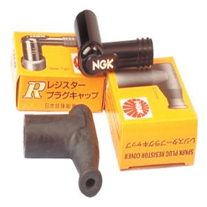 90deg LBER Spark Plug Resistor Cover Elbow Type~1987 Kawasaki KDX200