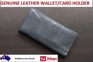 Men-Ladies-Light-Weight-Stylish-Genuine-Leather-Business-Wallet-Card-Holder-Gift