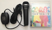 Ps3 Disney Sing It Karaoke Playstation 3 Game & Microphone Bundle Sealed