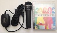 Ps3 Disney Sing It Karaoke Playstation 3 Game & Microphone Bundle Sealed