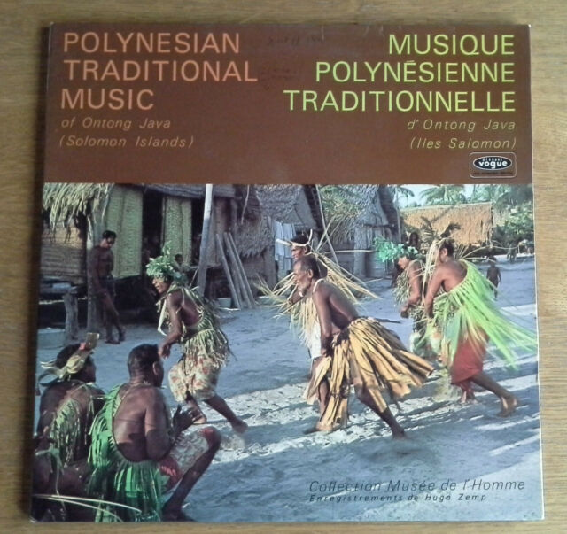 Polynesian Traditional Music of Ontong Java (Solomon Islands)  LP aus Frankreich