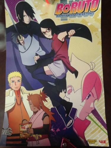 SDCC /& Anime Expo 2019 Exclusive Shonen Jump Boruto Naruto Poster