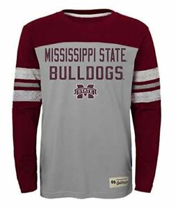 NCAA-Mississippi-State-Bulldogs-Kids-amp-Youth-Boys-034-Legacy-Tee-034-Long-Sleeve-Crew