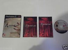 RESIDENT EVIL 4 LIMITED EDITION for PLAYSTATION 2 'VERY RARE & HARD TO FIND'