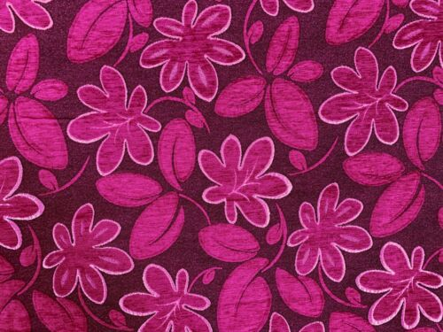 Fester Bezugsstoff Möbelstoff Polsterstoff Damast-Optik Tiefpink Farbtöne