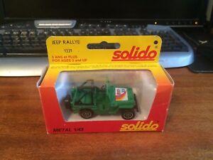 Solido-1-43-escala-1331-Jeep-Rallye-En-Caja