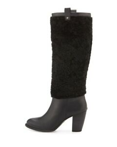 62e12d349b Details about UGG Women's Ava Exposed Fur boots Size 5