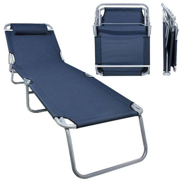 Chair Folding Outdoor Chaise Lounge