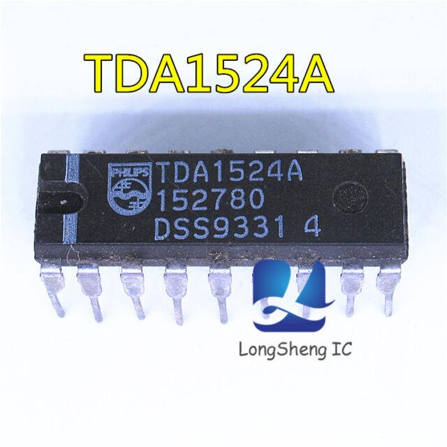 TDA1524A Stereo-tone//volume control circuit IC