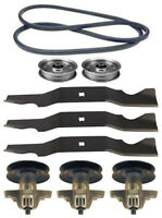 Mtd Gold 50 Lawn Mower Deck Parts Kit Spindles Blades Belt Free Shipping