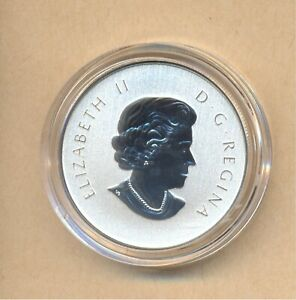 Canada-2015-Maple-Leaf-10-Dollars-pure-silver-coin-with-case-and-coa-15-87-gr