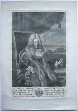 Georg Adolf Kress von Kressenstein Nürnberger Senator Orig Kupferstich 1693