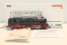 5258- Neuwertige Märklin H0 Dampflok 33081 inkl. OVP! Delta-Digital!Sondermodell