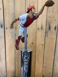Cincinnati-Reds-Tap-Handle-Johnny-Bench-MLB-BASEBALL-Beer-Home-Jersey-Catcher