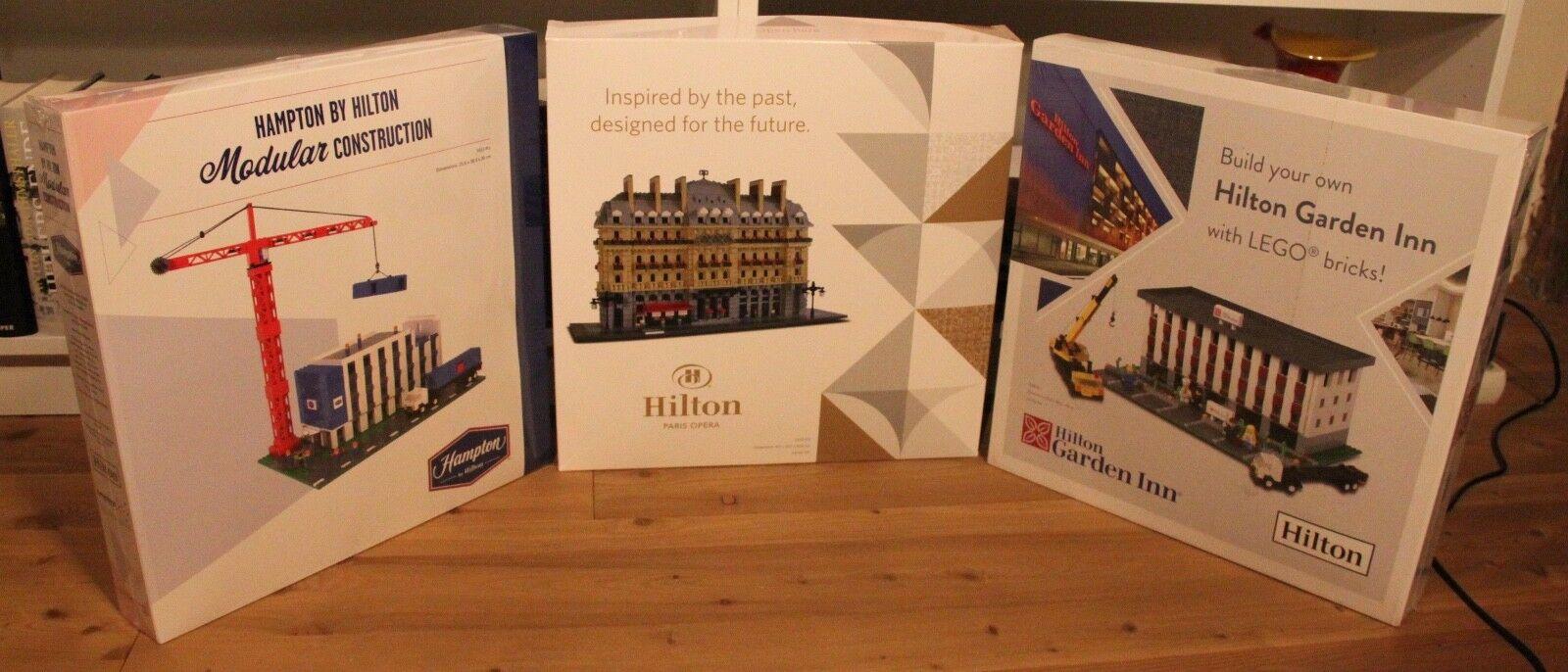 Lego hilton garden inn Certified Professional muy rara edición limitada
