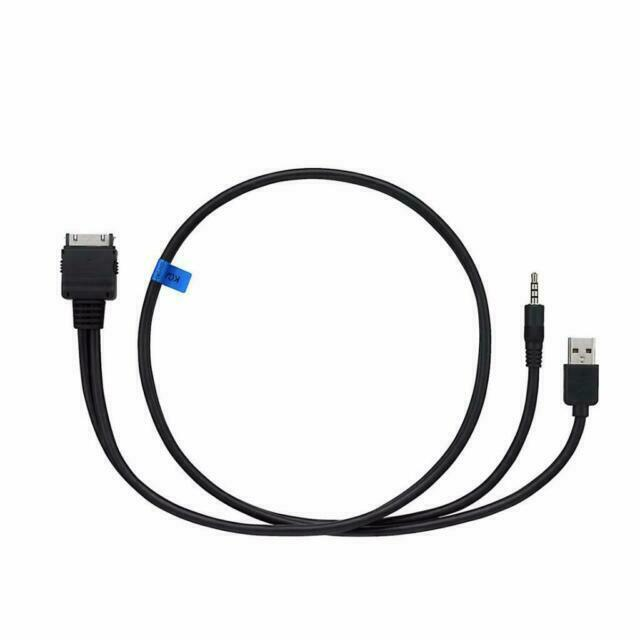 Generic Packaging Kenwood KCA-IP22F iPod Video Cable with Front USB