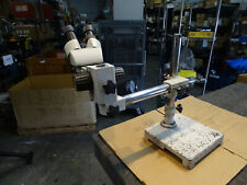 Amscope 2x 4x Microscope With Boom Stand 10x Wf Eyepieces For Parts