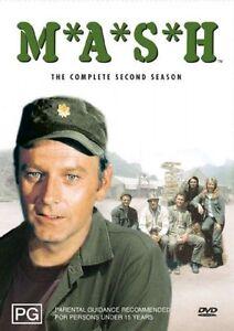 MASH-Season-2-DVD-2004-3-Disc-Set-AS-NEW-PAL-REGION-4