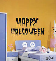 Happy Halloween Wall Art Decal Vinyl Sticker