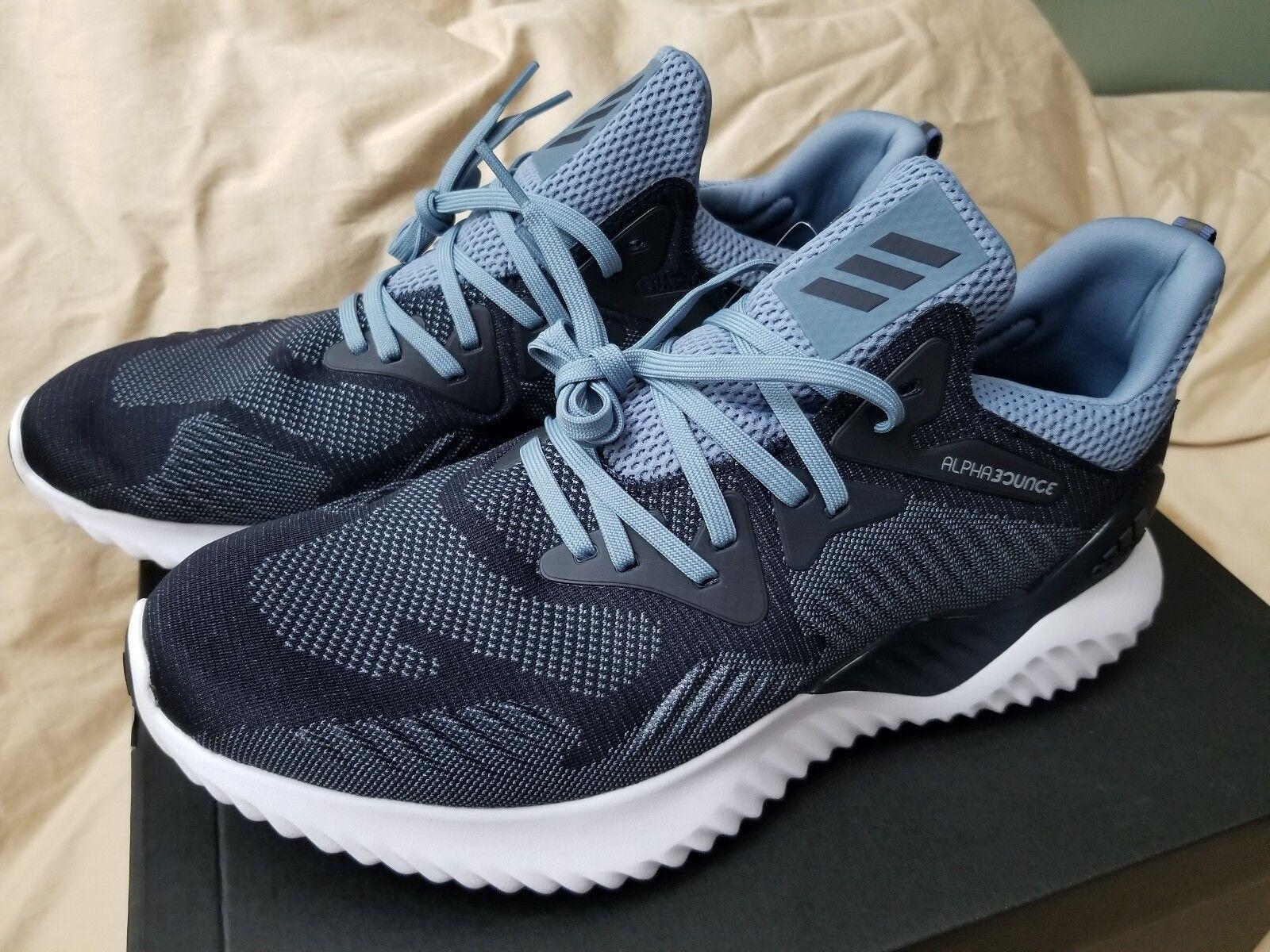 adidas alphabounce blaue über in marine und blaue alphabounce größe. 23e580