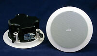 Ceiling Speaker Pair With Install Kit - Tannoy Cvs4 Micro - Rrp Around $400