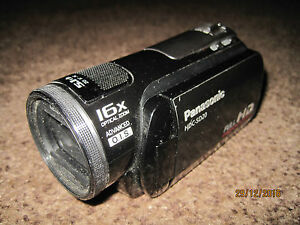 Panasonic-HDC-SD20-Hi-Def-Flash-Media-Camcorder-FAULTY