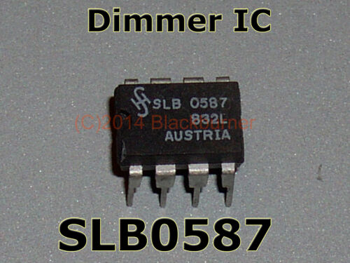 DIP Slb0587 TOUCH DIMMER IC Originale Siemens NUOVO 1 2 pezzi