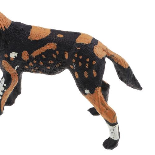Wild Animal Figure Toy African Wild Dog Plastic Animal Children Learning Toy