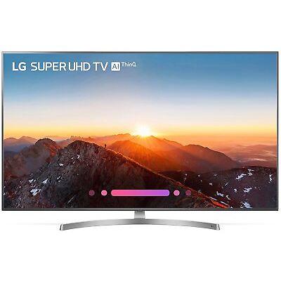 """LG 65"""" 4K Ultra HD HDR Nano Cell IPS 120Hz Smart TV 2018 Model - 65SK8000"""