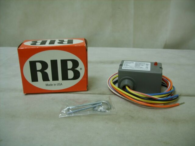 RIB RIB21CDC Enclosed Pre-Wired Relay,10A@30VDC,SPDT FUNCTIONAL DEVICES INC
