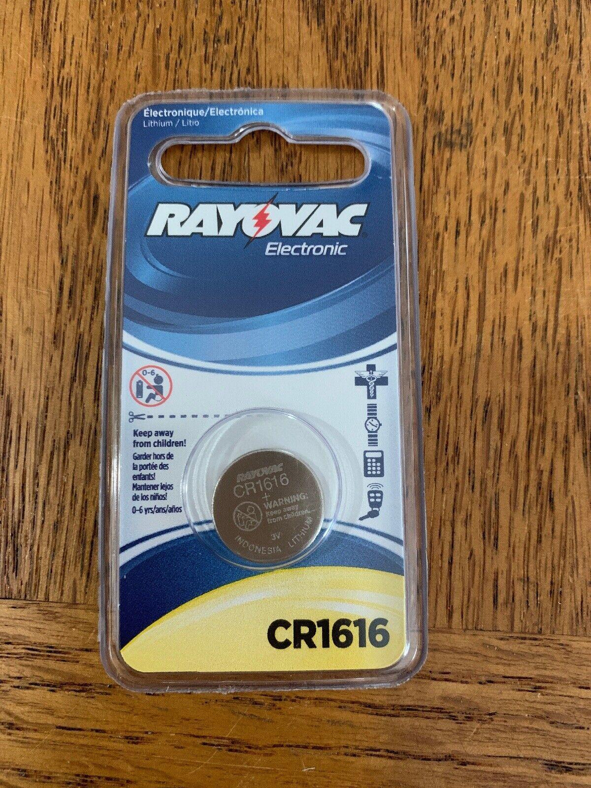 Rayovac CR1616 Battery