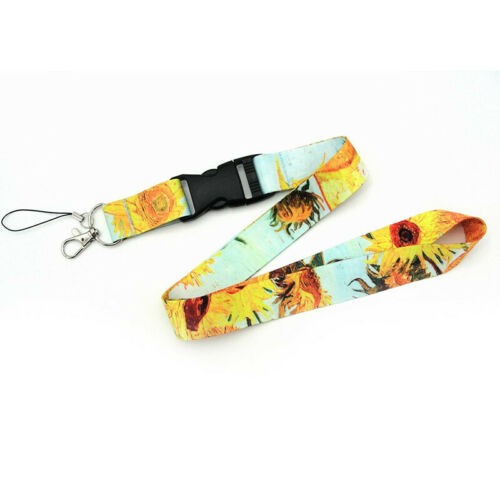 Fashion Neck Key Phone ID Card Strap Necklaces Chain Badge Holders Art Lanyard