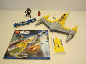 23# LEGO 7877 Star Wars Naboo Starfighter mit BA nicht komplett ???