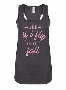 And-If-I-Fly-Or-If-I-Fall-Women-039-s-Racerback-Vest-RuPaul-Drag-Queen-Tank-Top