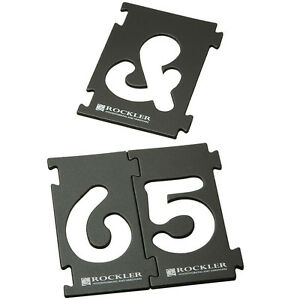 2 1 4 interlock signmaker 39 s number and symbols kit comic for Router alphabet templates