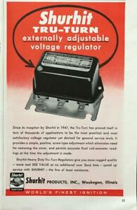 1961-Shurhit-Tru-Turn-Voltage-Regulator-Print-Ad-World-039-s-Finest-Ignition