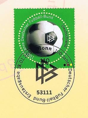 Brd 2000: Dfb 100 Jahre! Nr. 2091 Mit Sauberem Bonner Ersttagsstempel! 1a! 1610 Ein Unbestimmt Neues Erscheinungsbild GewäHrleisten