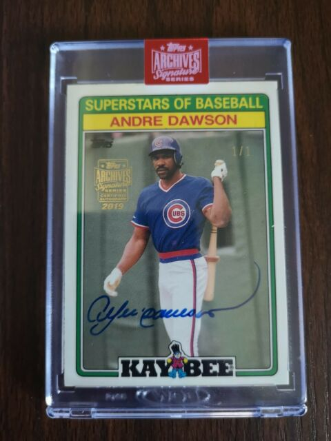 2019 Topps Archives Signature Series Andre Dawson 1/1!