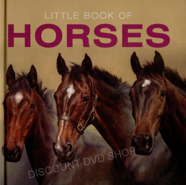 Little Book of Horses. New hardback book. NEW ITEM