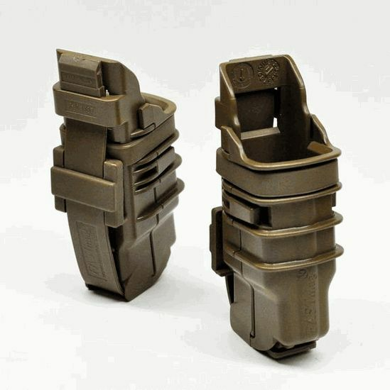 ITW FastMag GEN III Rifle & Pistol Mag Pouch-MOLLE & Belt/Double Stack Versions